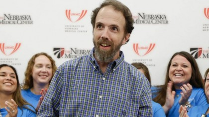 Dr Richard Sacra, Obstetrician who contracted Ebola in Liberia treated in Nebraska