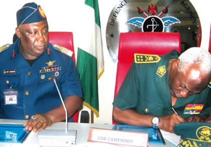 Chief of Defence Staff Announces Agreement Of A Ceasefire Between The Federal Government And Boko Haram
