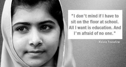 Nobel Peace Prize Laureate, Malala Yousafzai on Girl Child Education