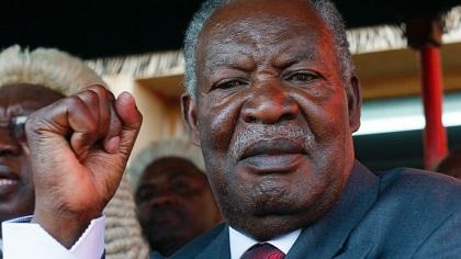 Zambia president dies