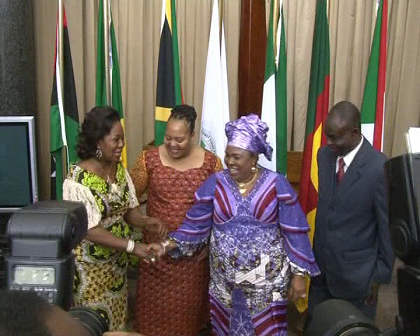 First Ladies Meet in South Africa