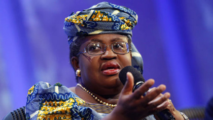 Nigeria Finance Minister, Ngozi Okonjo-Iweala at World Economic Forum
