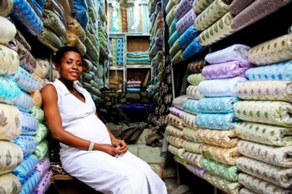 A Nigerian Entreprenuer in Lagos (Photo: Bellanaija-Unseen Nigeria)