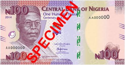 New N100 Naira Note