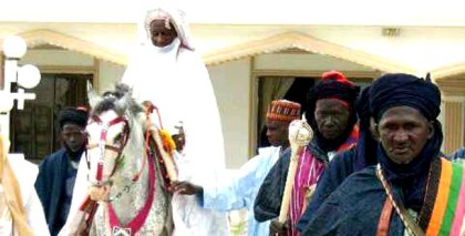 Emir of Mubi returns to Mubi, commends efforts of Nigerian Military,expresses hope other towns will also be liberated