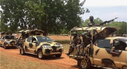 Soldiers of the Nigerian Army stationed in North-East Nigeria(Photo: From the Internet)