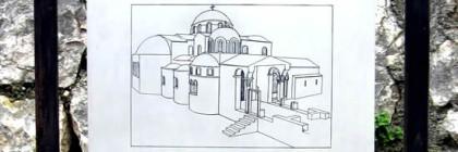 Original Sketch of St. Nicholas Church