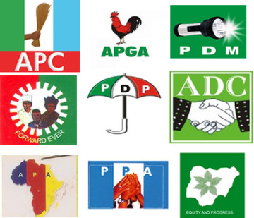Logos of Some Political Parties in Nigeria