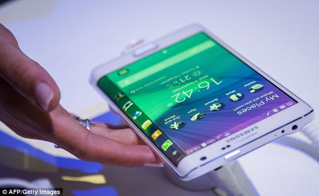 Next Gen Samsung Galaxy SmartPhones (Photo: AFP)