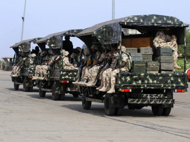 Africa-Nigeria-troops-leave-for-Mali
