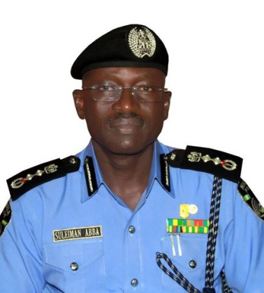 Inspector General of Police Suleiman Abba
