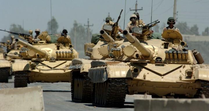 Iraqi Checkpoint Station