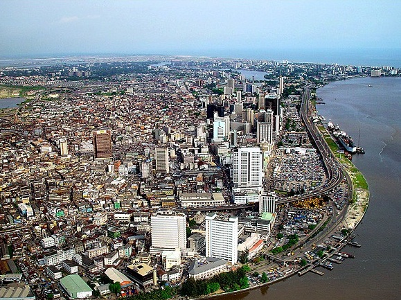 Lagos Mainland from the Skyline (Photo: Web)