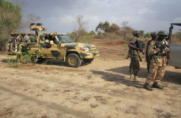 Nigerian military in Operation in the North-East