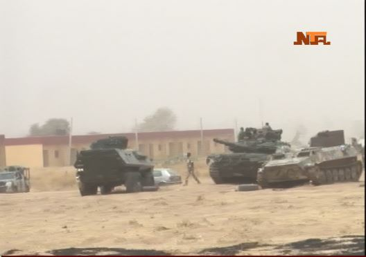 Nigerian Mechanized Division on the front-lines in the North-East