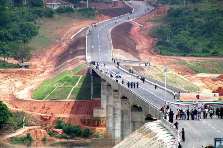 Site of an ongoing construction project in Nigeria (Photo: Web)