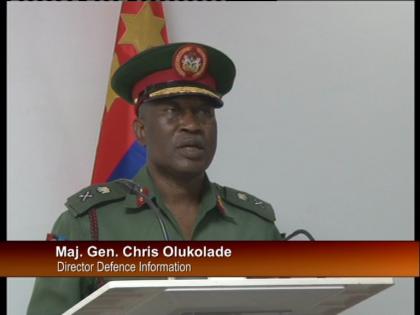 Maj. Gen. Chris Olukolade