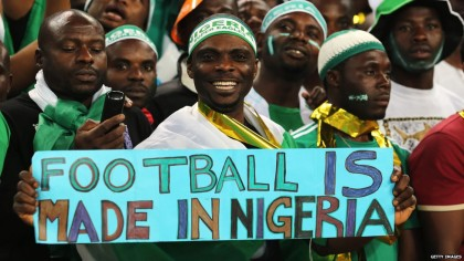 Nigerian Supporters Club(PHOTO: NFF)