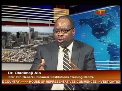 Dr. Oladimeji Alo Former Director General, Financial Institutions Training Centre
