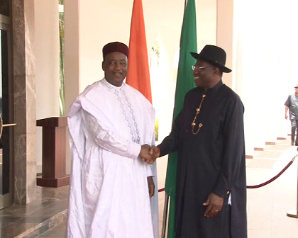 President of Niger Republic pays solidarity visit to President Jonathan