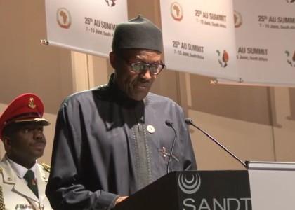 Muhammadu Buhari President and Commander in Chief of the Federal Republic of Nigeria
