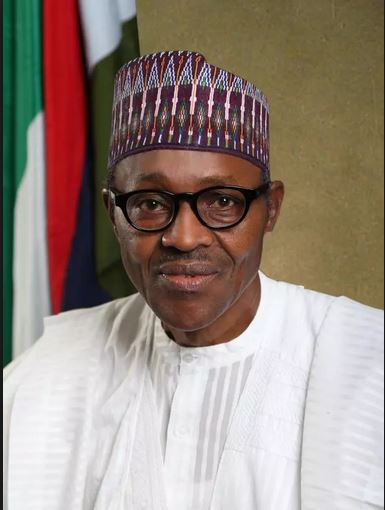 President Muhammadu Buhari, Commander-in-Chief of the Armed Forces of Nigeria
