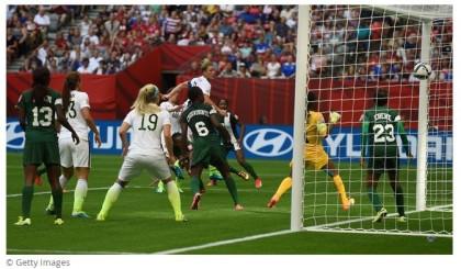 Match Report: Wambach goal sends Super Falcons home
