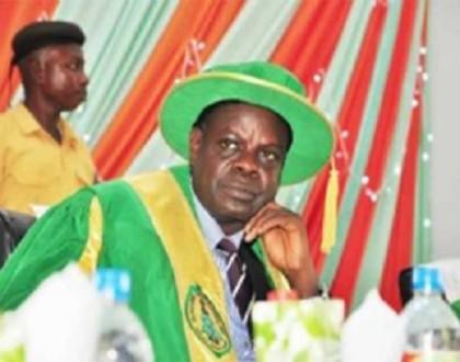 Late Professor Albert Ilemobade  Former VC Federal University of Technology Akure