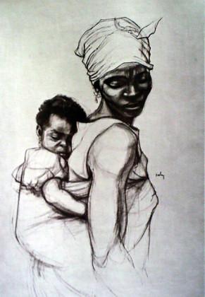 #BeingFemaleinNigeria in  picture