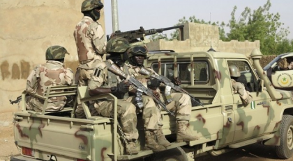 Nigerian Army In North-East On Patrol