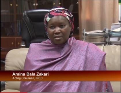 Mrs. Amina Bala Zakari Acting Chairman INEC