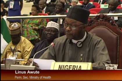Mr. Linus Awute Permanent Secretary Ministry of Health