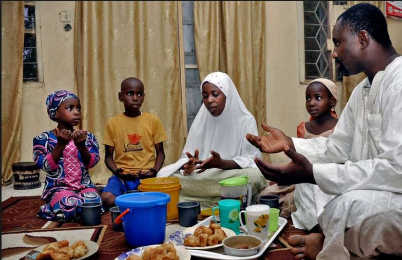 Barka da sallah how nigeria celebrates eid el fitr nta family breaking the fast during ramadan m4hsunfo