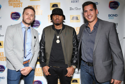 "Adam Sjöberg, Nasir ""Nas"" Jones and David Jacobson"