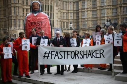 Support For Shaker