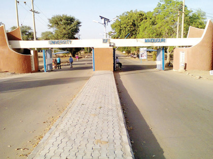 Main Entrance University of Maiduguri