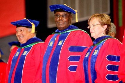 AUN 10th Founder's Day Celebration:  Atiku Urges Stakeholders to Support Educational Reforms