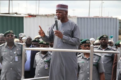 Col. Hameed Ali (rtd), Comptroller-General of Customs