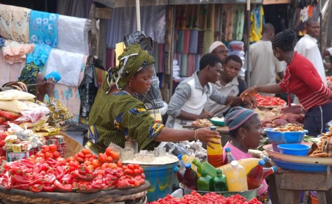 Nigerian Food Market (Photo: Internet)
