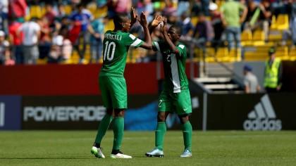 Nwakali Nigeria U-17 Captain