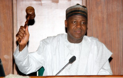 Hon. Yakubu Dogara, Speaker of the House