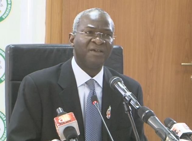Mr. Babatunde Fashola, Minister for Power, Works and Housing