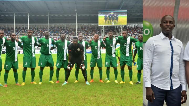 Nigerian National U-23 Dream Team VI, Head Coach Samson SiaSia (Photo: Internet)