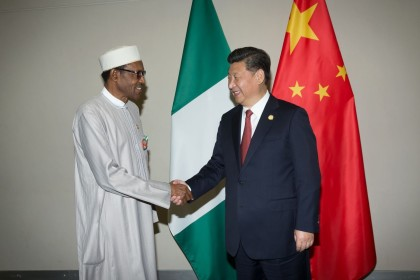 President Muhammadu Buhari and China's President Xi Jinping