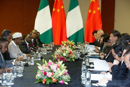 Nigeria and China At Side Meeting #China-Africa Summit