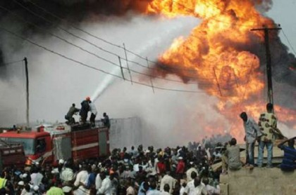 Gas Explosion At Nnewe, Anambra State