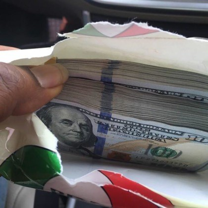 Dollars In PDP Branded Envelop
