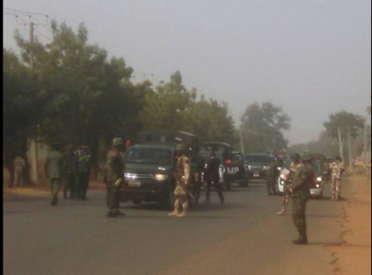 COAS Convoy Attacked In Zaria