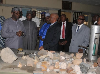 Dr. Kayode Fayemi  Minister of Solid Minerals Development At A Function on Solid Minerals