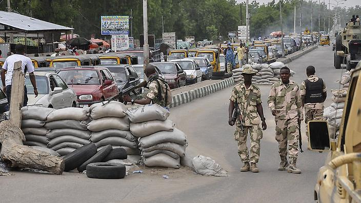 Check Point In Maiduguri